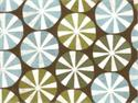 Moda Figgy Pudding Peppermint Fabric - Brown