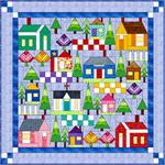All Around the Neighborhood Sampler Quilt Kit