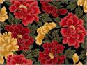 Timeless Treasures Madame Butterfly Fabric - Floral
