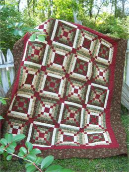 Crossing Trails Quilt Kit