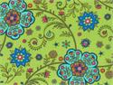Moda Summer House Fabric - Olive Zest