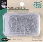 Dressmaker Pins Bonus Pack - PERFECT FOR EMBELLISHING BEADS ONTO ORNAMENT BALLS