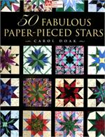 Carol Doak's 50 Fabulous Paper-Pieced STARS Book & CD-Rom