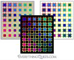 Colorful Stars Quilt Kit