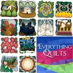 Everything Quilts 12 Days Christmas Image Set ePattern