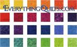 Over the Rainbow Batiks Bundle - 1 YARD EACH - EQ Exclusive!
