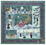 Heaven and Nature Sing Quilt Kit - Includes Pre-cut & Pre-fused Appliqués