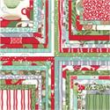 Moda In from the Cold Fabric Jelly Roll (Kate Spain)