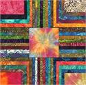 Moda Island Sun Batik Fabric Jelly Roll (2-3/4