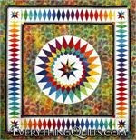 Summer Dream Quilt Pattern - Includes All Foundation Papers