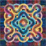 Tropical Rainbow Quilt Pattern