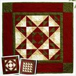 Autumn Star Wallhanging Quilt Kit