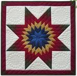 Lone Star Wallhanging Quilt Kit