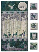 Moon Shadow Quilt Kit - Includes Pre-cut & Pre-fused Appliqués by McKenna Ryan