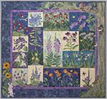 Petals of My Heart II Quilt Kit - Includes Pre-cut & Pre-fused Appliqués