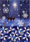 Snow Crystals Quiltscapes Notecard Set