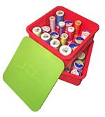 Sew Stack Thread Spool Kit - 2 Stacking Thread Spool Tray Set