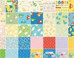 Benartex Baby Talk Fabric Charm Pack 5 x 5