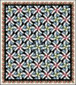 Sweet Reflections Quilt Kit - EQ Exclusive