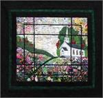 Country Church Watercolor Quilt Kit