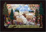 Elk Country Watercolor Quilt Kit
