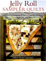 Jelly Roll Sampler Quilts Book