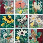 All Spruced Up - Set of 9 Block Kits - Includes Pre-cut & Pre-fused Appliqués