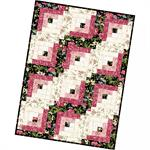 Log Cabin PRE-CUT Quilt Kit
