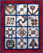 Watercolor Sampler Quilt Kit