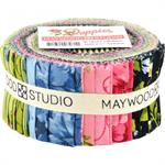 Maywood Studio Poppies Fabric Jelly Roll