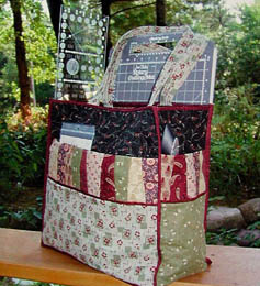 Free Quilting Patterns For Totes : I d Be Quiltin Tote Pattern