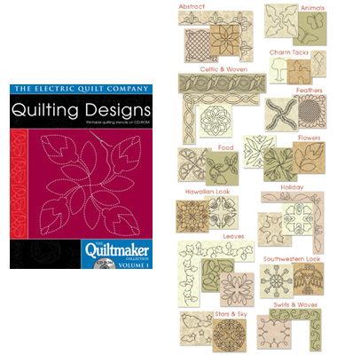 Quilting Designs Quiltmaker Volume 1 CD-Rom