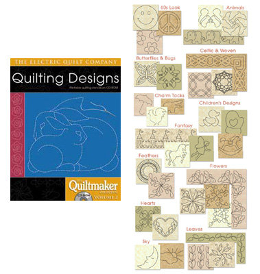 Quiltmaker Quilting Designs Cd : Quilting Designs Quiltmaker Volume 2 CD-Rom