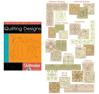 Quilting Designs Quiltmaker Volume 3 CD-Rom