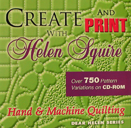 Create and Print Machine Quilting Patterns with Helen Squire CD-Rom