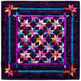 Free Scrap Quilt Pattern - Make a Scrap Quilt from Half Square
