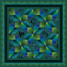 Cat Quilt Pattern Janet Clare