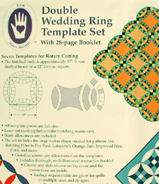 Marti Michell Double Wedding Ring Template by Marti Michell