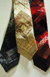 Log Cabin Tie Pattern