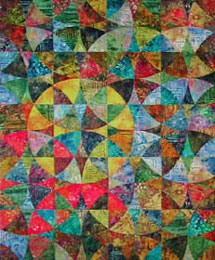 Four Star Square, A free Mystery Quilt pattern from