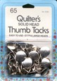 Quilter's Thumb Tacks for Design Walls