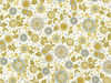 Robert Kaufman Empress Bouquet Fabric - Cream Small Floral