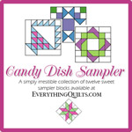 Candy Dish Sampler Block-of-the-Month