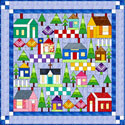All Around the Neighborhood Quilt Kit