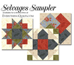 Selvages Sampler Block-of-the-Month