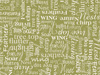 Studio E Nature-Ology Words Fabric - Olive