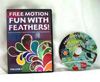 Free Motion Fun with Feathers Volume 1 DVD - A Machine Quilter's Guide to Creating Beautiful Feather Motifs