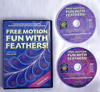 Free Motion Fun with Feathers Volume 2 DVD - A Machine Quilter's Guide to Creating Beautiful Feather Motifs
