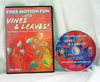 Free Motion Fun with Vines and Leaves Volume 1 DVD - A Machine Quilter's Guide to Creating Beautiful Vine and Leaf Motifs