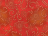 Hoffman Royal Mendhi Fabric - Paprika